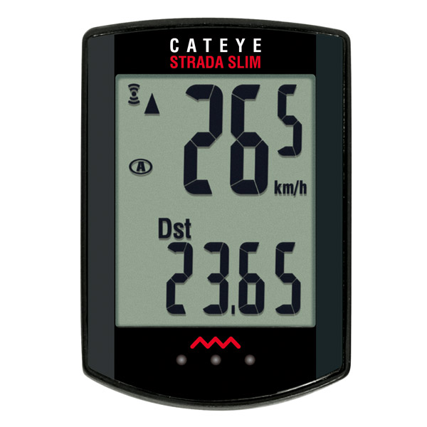 Cateye Strada Slim cycle computer