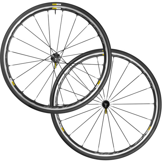 mavic ksyrium elite clincher wheelset black m25