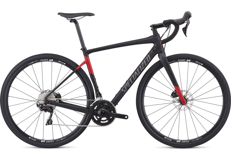 Specialized Diverge sport mens 2019 Black/Flo red