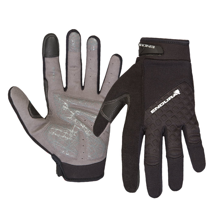 Hummvee Plus Glove, Black