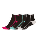 Wms COOLMAX® Stripe Sock (3-Pack)