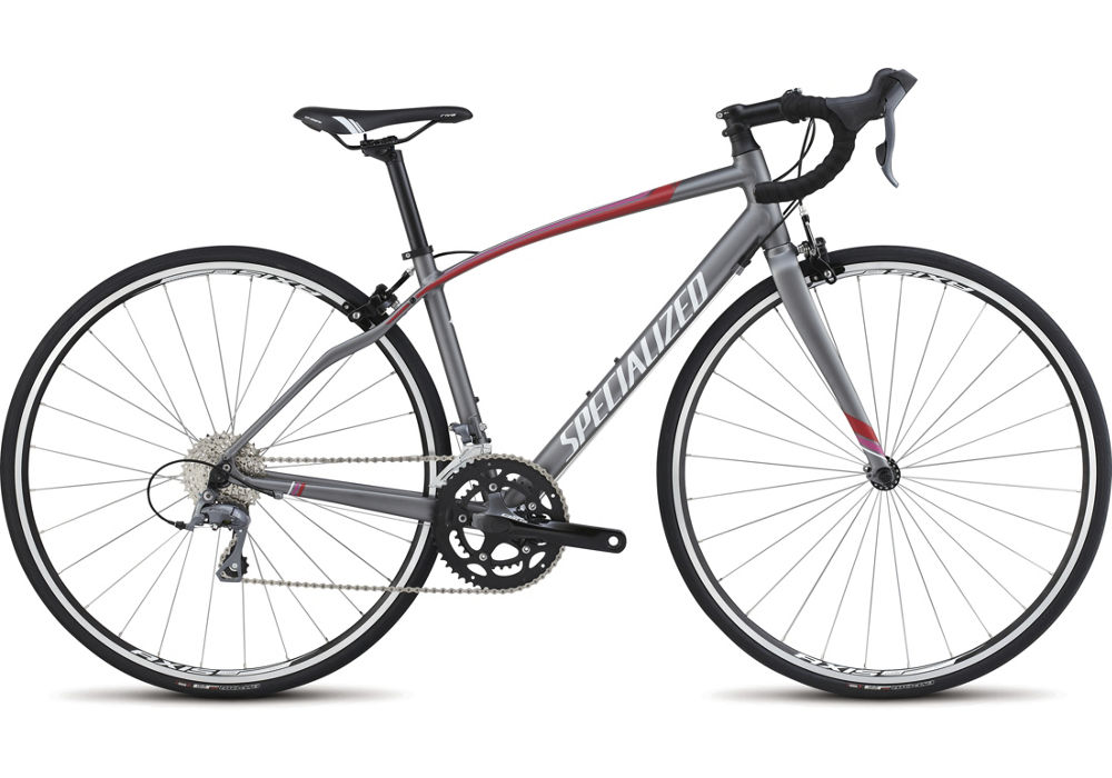 Specialized Dolce Charcoal/ Red/ Pink/ Silver/ Metallic White