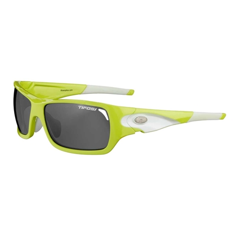 tifosi duro interchangeable lens type glasses lime green/ white