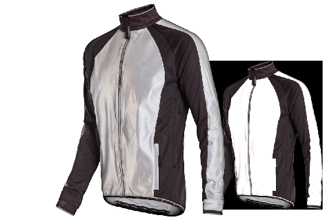 Funkier Soft Shell Windstopper Jacket in Silver/Reflect