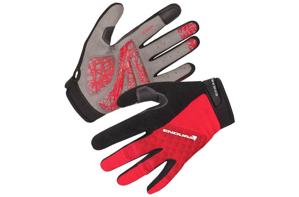 Hummvee Plus Glove, Red