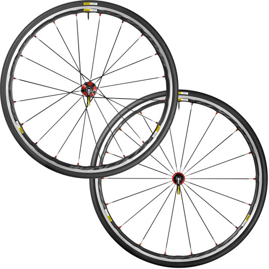Mavic Ksyrium elite red M25