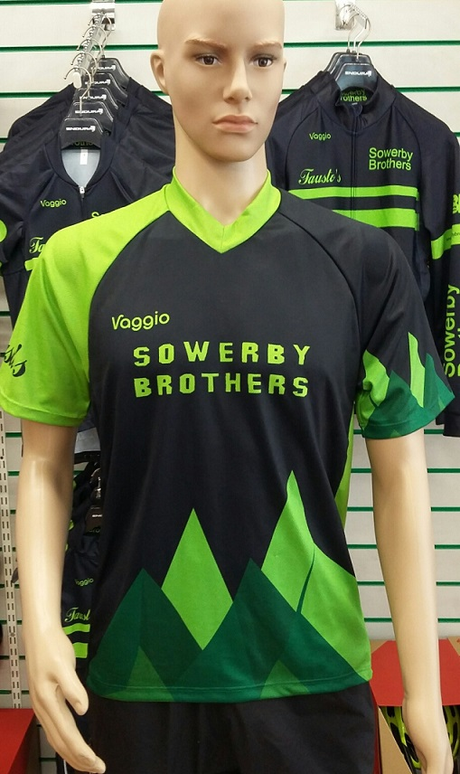 Sowerby Brothers short sleeve Mountain bike jersey